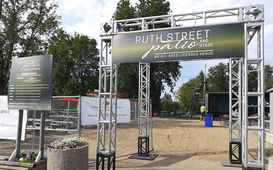 Ruth Street Patio